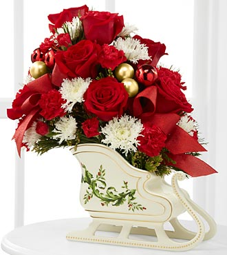 The Holiday Traditions™ Bouquet by FTD® - VASE INCLUDED