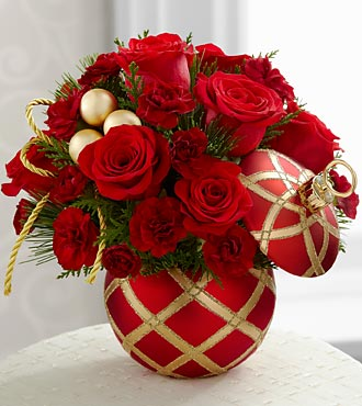 Season's Greetings™ Bouquet by FTD® - VASE INCLUDED