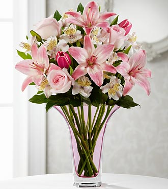 The FTD® Loving Thoughts® Bouquet - VASE INCLUDED