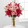 The Loving Thoughts® Bouquet by FTD® - VASE INCLUDED