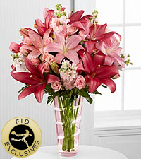 The Loving Thoughts&reg; Bouquet by FTD&reg; - VASE INCLUDED