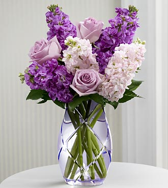 FTD Sweet Devotion Flowers by Better Homes and Gardens - VASE INCLUDED