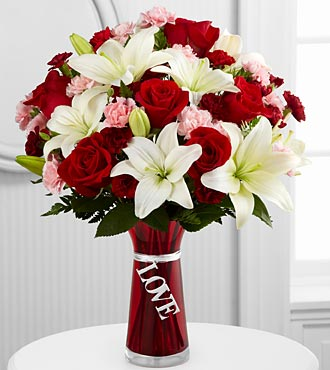 The Expressions of Love™ Bouquet by FTD® - VASE INCLUDED