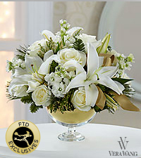 The FTD® Holiday Elegance™ Bouquet by Vera Wang