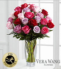 The FTD ® Captivating Color™ Rose Bouquet by Vera Wang - Premium