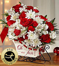 The FTD ® Holiday Traditions™ Bouquet