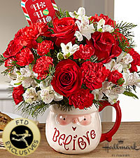 The FTD ® Believe™ Mug Bouquet by Hallmark