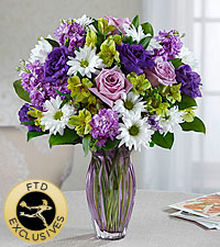 The FTD ® Loving Thoughts ® Bouquet - VASE INCLUDED
