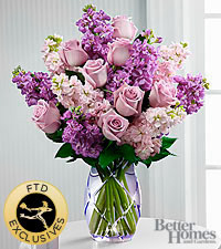 The FTD ® Sweet Devotion™ Bouquet by Better Homes and Gardens ® -VASE INCLUDED