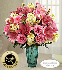 The FTD ® Perfect Day™ Bouquet for Kathy Ireland Home - VASE INCLUDED