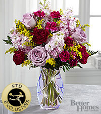 The FTD ® Gratitude Glimmers™ Bouquet by Better Homes and Gardens ® -VASE INCLUDED