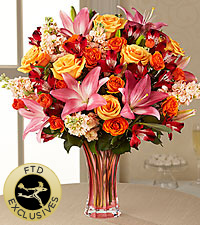 The FTD ® Touch of Spring ® Bouquet - VASE INCLUDED