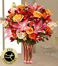 The FTD ® Touch of Spring ® Bouquet -VASE INCLUDED