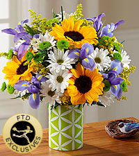The FTD ® Botanical™ Bouquet - VASE INCLUDED