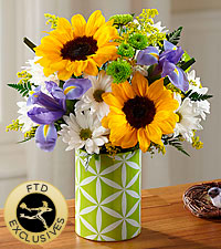 The FTD ® Botanical™ Bouquet-VASE INCLUDED