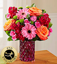The FTD ® Brightly Bejeweled™ Bouquet