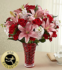 The FTD ® Lasting Romance ® Bouquet