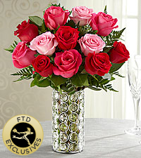 The FTD ® Art of Love™ Rose Bouquet- VASE INCLUDED
