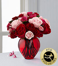 The FTD ® My Heart to Your™ Rose Bouquet
