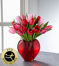 The FTD ® Season of Love™ Bouquet - VASE INCLUDED