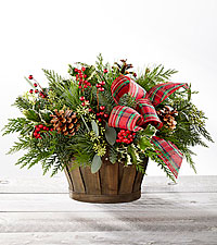 The FTD ® Holiday Homecomings ™ Basket