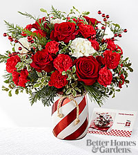 The FTD ® Holiday Wishes ™ Bouquet by Better Homes & Gardens ®