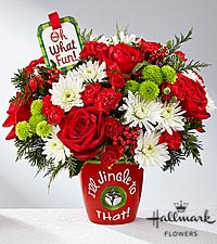 The FTD ® I 'll Jingle to That ™ Bouquet by Hallmark