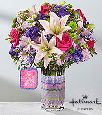 The FTD ® So Very Loved™ Bouquet by Hallmark - VASE INCLUDED