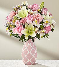 The FTD ® Perfect Day™ Bouquet - VASE INCLUDED