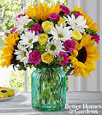 The FTD ® Sunlit Meadows™ Bouquet by Better Homes and Gardens ®