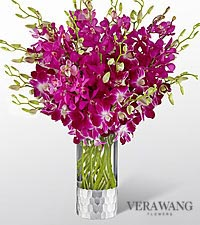 The FTD ® Orchid Bouquet by Vera Wang - VASE INCLUDED