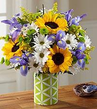 The FTD ® Sunflower Sweetness™ Bouquet - VASE INCLUDED