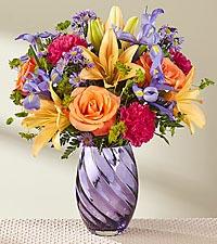 The FTD ® Make Today Shine™ Bouquet - VASE INCLUDED