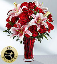 The FTD ® Perfect Impressions™ Bouquet- VASE INCLUDED
