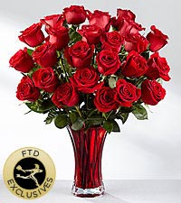 The FTD ® In Love with Red Roses™ Bouquet