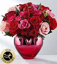 The FTD ® Hold Me in Your Heart™ Rose Bouquet