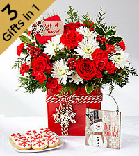 The FTD ® Holiday Cheer ™ Ultimate Gift