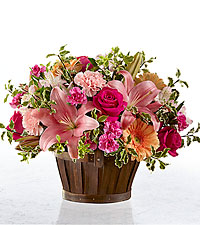The FTD ® Spring Garden ® Basket- BASKET INCLUDED