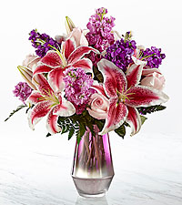 The FTD ® Shimmer & Shine™ Bouquet-VASE INCLUDED