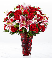 The FTD ® Lasting Romance ® Bouquet-VASE INCLUDED