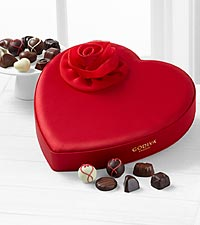Godiva&reg; Satin Heart - Assorted Chocolates