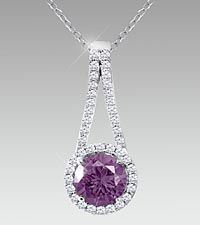 February Floral Jewels&#153; Birthstone Collection - Amethyst