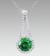 May Floral Jewels&#153; Birthstone Collection - Emerald