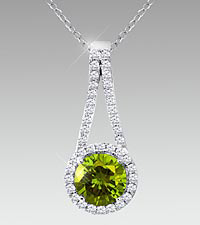 August Floral Jewels ™ Birthstone Collection - Peridot