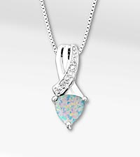 October Floral Jewels™ Birthstone Collection - Opal