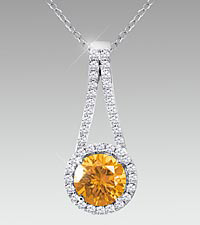 November Floral Jewels&#153; Birthstone Collection - Citrine