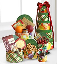 Gourmet Sweet & Savory Tower