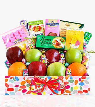 Spring Delights Easter Fruit Box