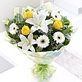 Spring Sunshine Hand-tied Bouquet