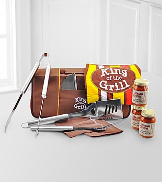 King of The Grill Father's Day Barbecue Set